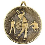 Golf Medal 60mm DM02